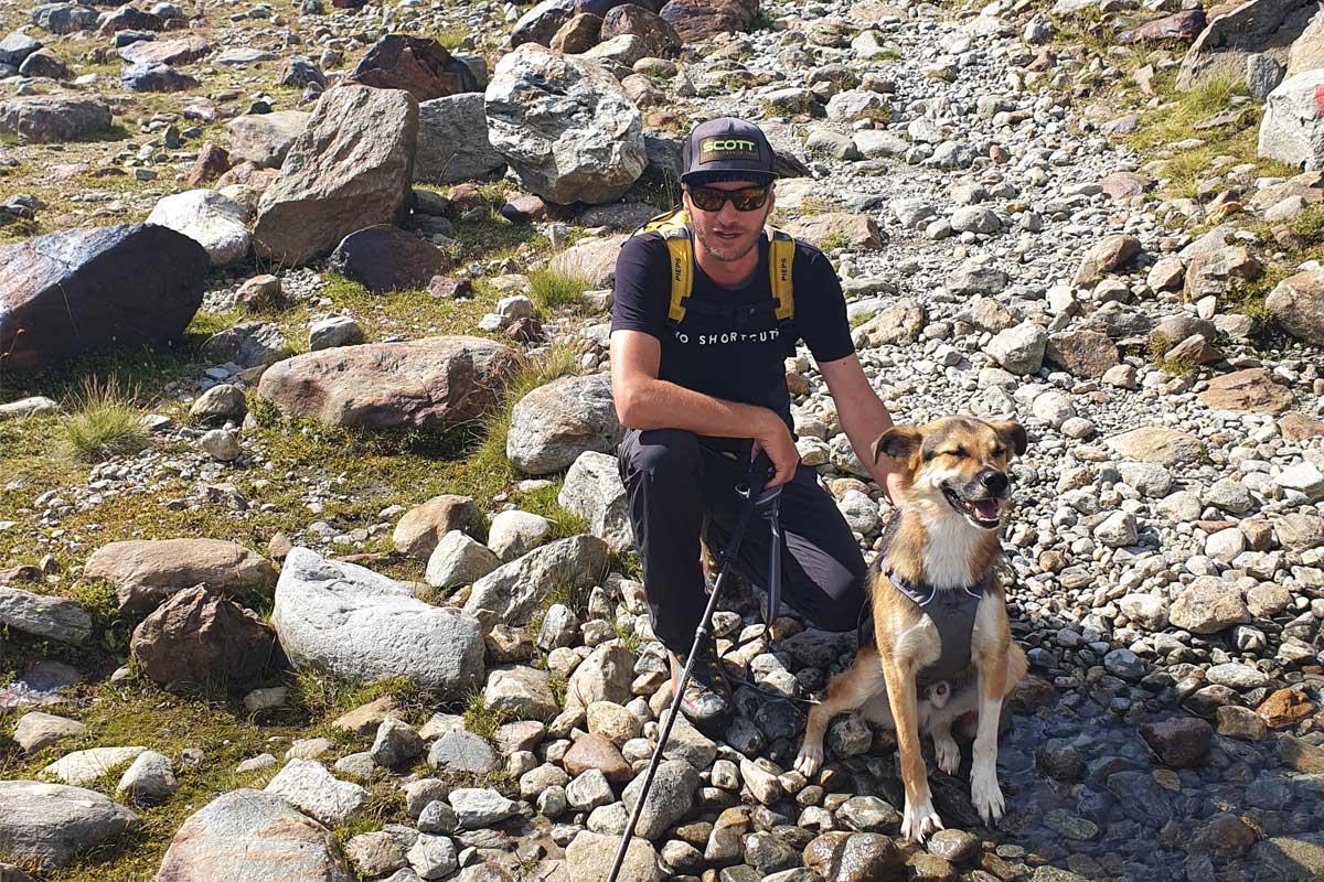 E5 mit Hund